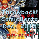 Throwback! Comic Bento December 2015