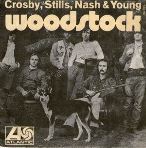 Crosby, Stills, Nash, and Young - Woodstock Album Jacket