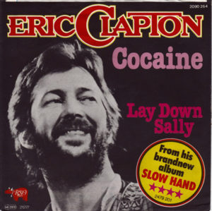 Eric Clapton, Cocaine, single cover