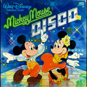 Mickey Mouse Disco, Macho Duck, Album Cover